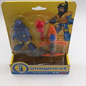 New fisher price imaginext deep sea diver